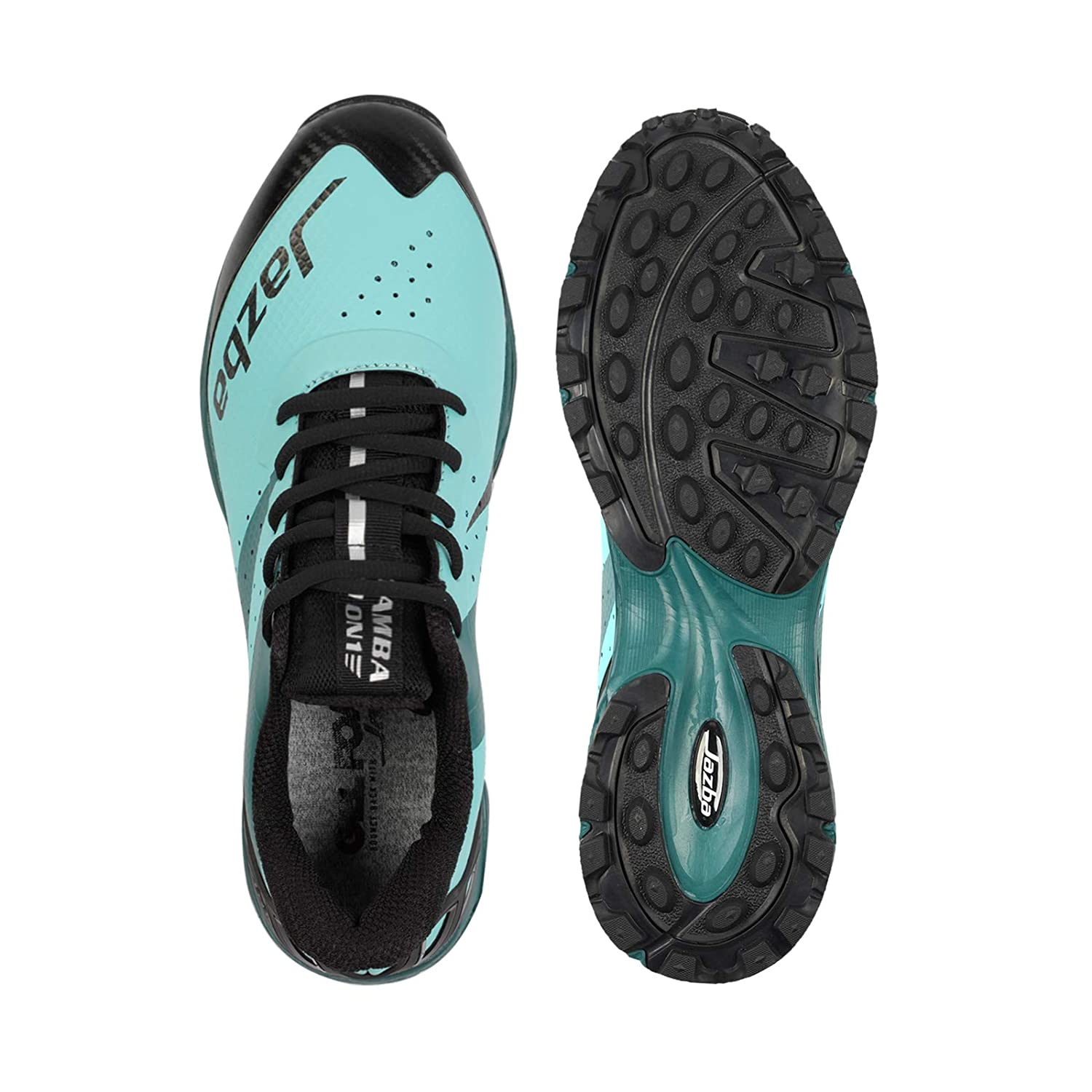 Excellent Traction Rubber Cleats Comfortable Sneakers Jazba Field Hockey Shoes Women Men Mamba ONE Turf Shoe Best for Outdoor Sports Cricket Softball Baseball Lacrosse