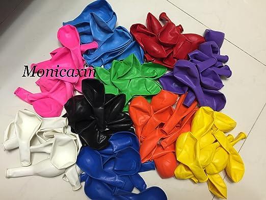 61 opinioni per Monicaxin 100(10 Colori x 10pc) Palloncini in Lattice in Vivaci colori assortiti
