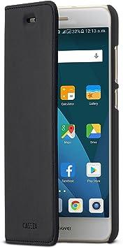 Caseza Huawei P10 Lite Flip Case Schwarz Oslo Ultra Elektronik