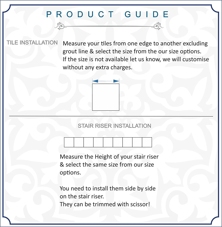 Amazon.com: Bleucoin Mexican Talavera Tile Sticker For Kitchen and ...