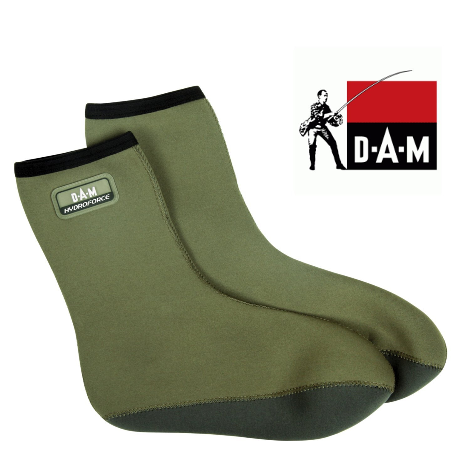 DAM HydroForce Neopren Socken m. Fleece Gr. M 42/43