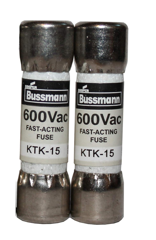 Multimeter fuse 15A 600V fast acting fuse KTK-15 10X38GRSQE