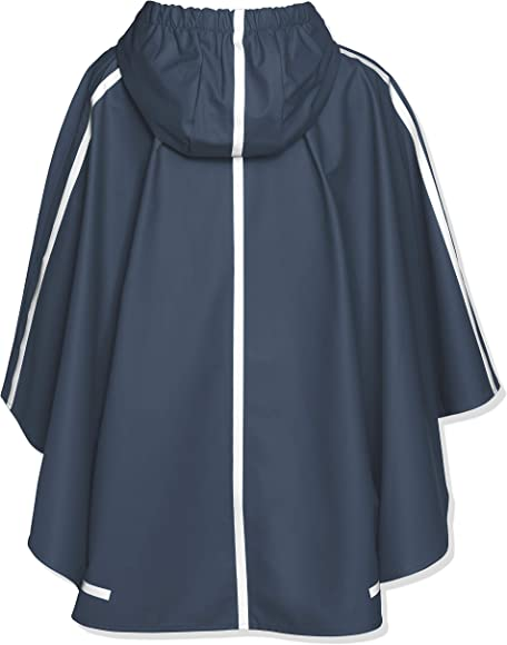 Playshoes Poncho Especially for Satchel Baby Girls Rain Coat