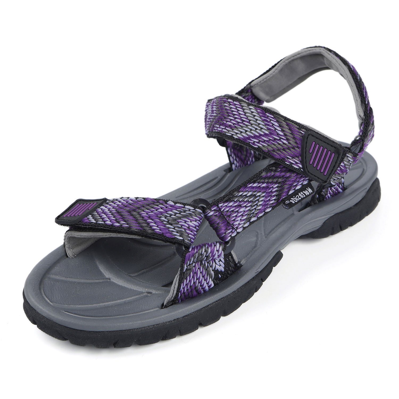 Northside Womens Seaview Sport Athletic Strap Sandal B01LZSIWIC 9 D US|Black/Violet