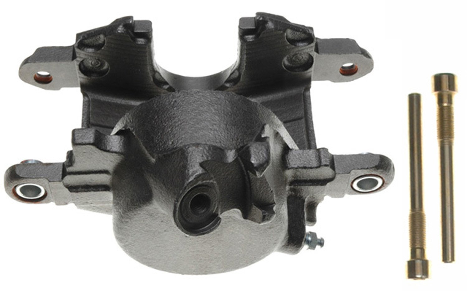 ACDelco 18FR623 Professional Front Passenger Side Disc Brake Caliper Assembly without Pads Friction Ready Non-Coated Remanufactured