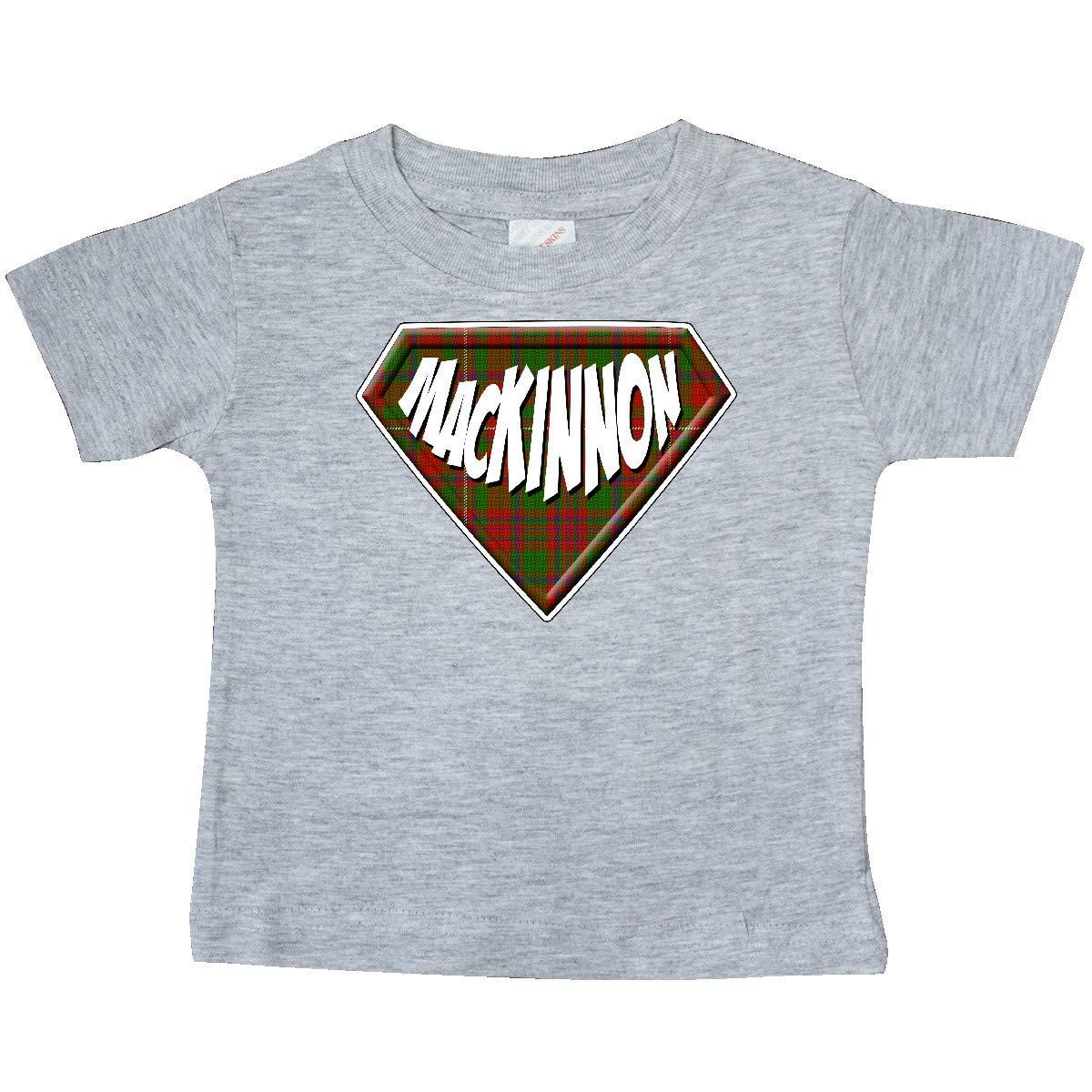 inktastic MacKinnon Tartan Superhero Baby T-Shirt