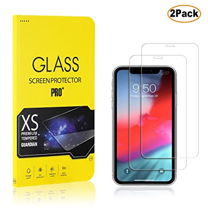 Bubble Free Anti Scratch The Grafu iPhone 11 6.1 Screen Protector Tempered Glass 1 Pack Easy Installation 9H Screen Protector for iPhone 11 6.1