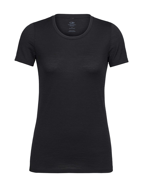 Icebreaker Damen T-Shirt Tech Lite Ss Low Crewe