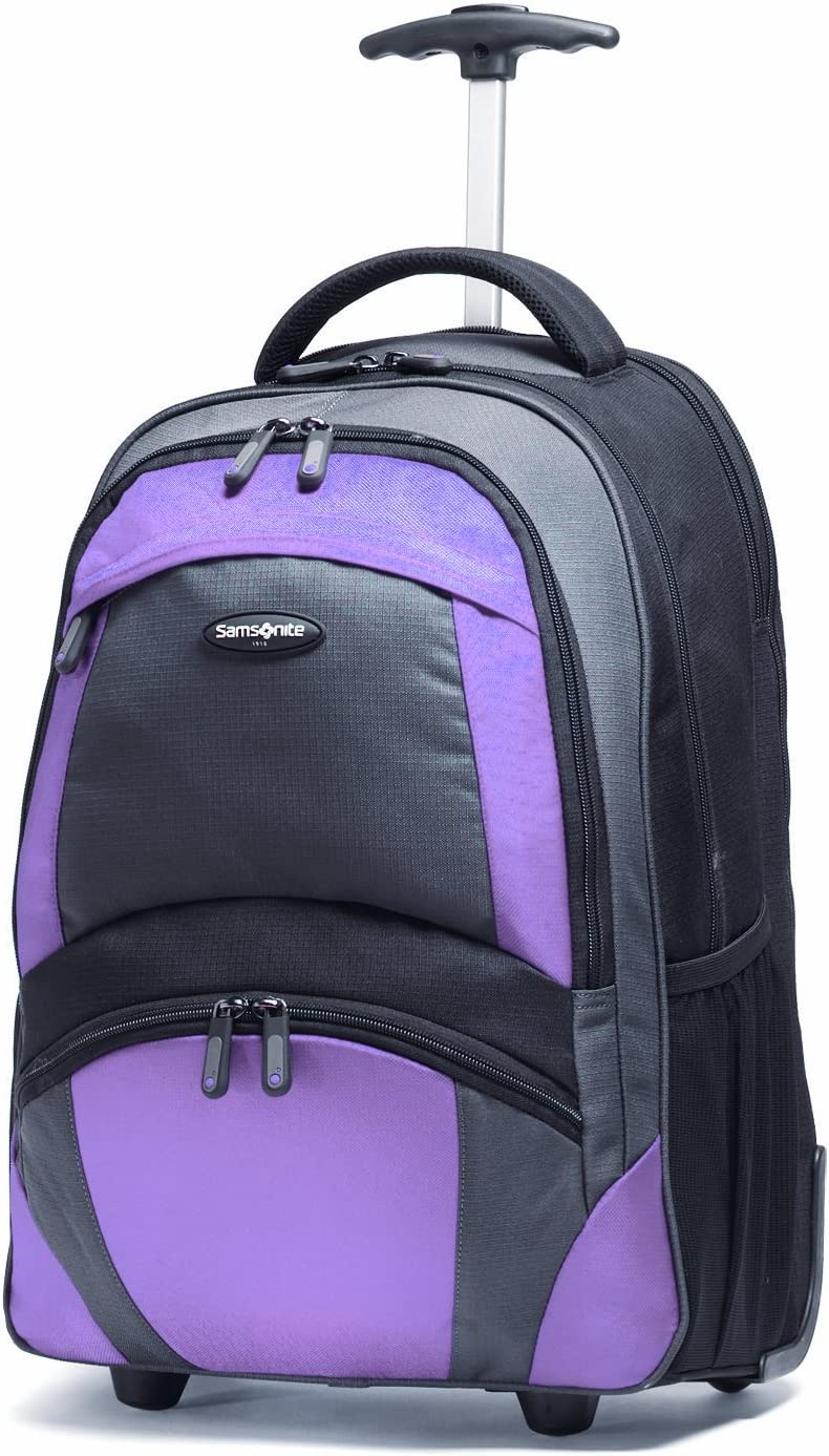 Samsonite Wheeled Backpack, Black/bordeaux, One Size