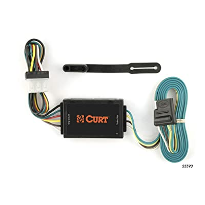 CURT 55593 Vehicle-Side Custom 4-Pin Trailer Wiring Harness for Select Mazda CX-7: Automotive