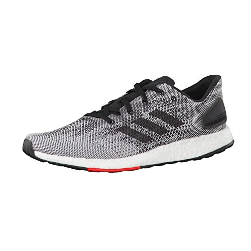 meet 35379 4caa9 adidas Mens Pure Boost DPR Running Shoes, Black, 9.5 UK