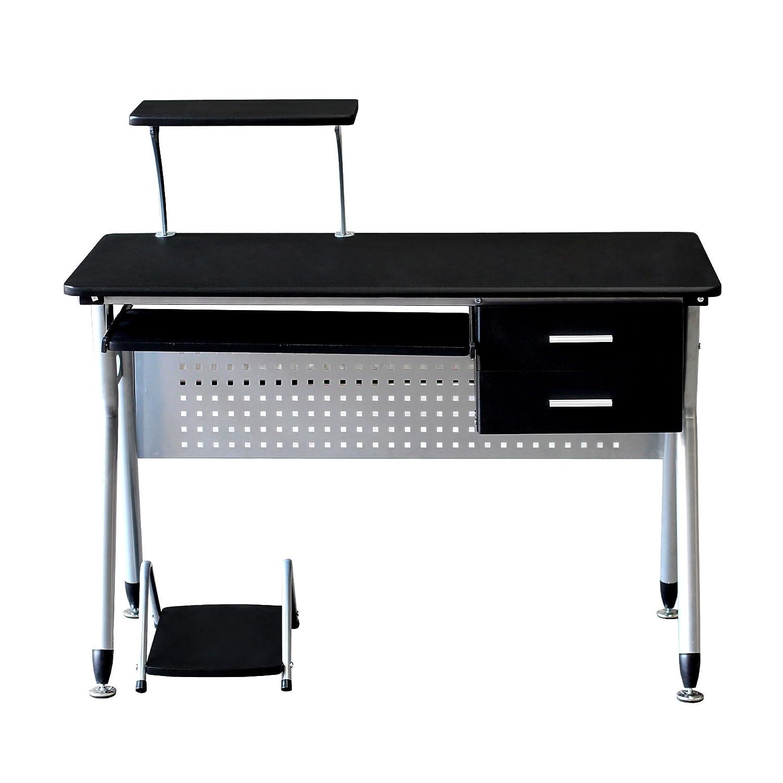EBS Mesa Oficina de Ordenador Escritorio Muebles Estación de Trabajo para hogar - 97 x 110 x 55 cm: Amazon.es: Oficina y papelería