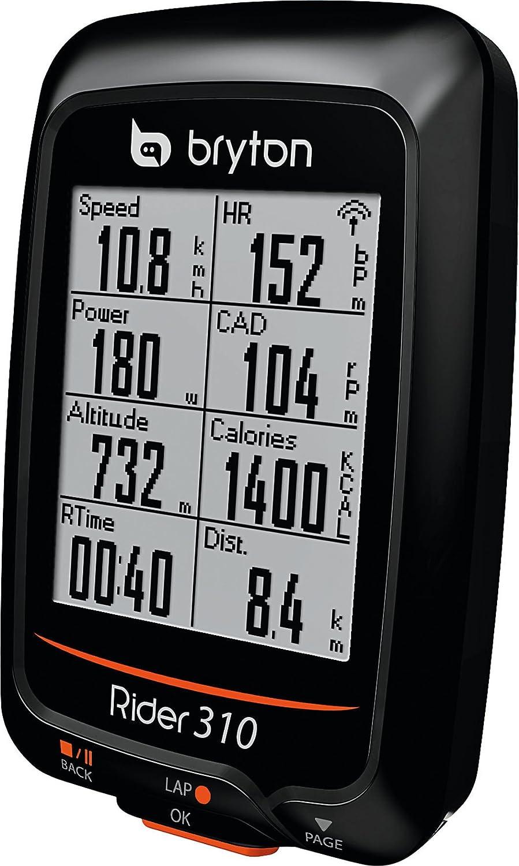 Bryton Compteur de v/élo Rider 320E Noir GPS Vitesse Calories Distance Cadence
