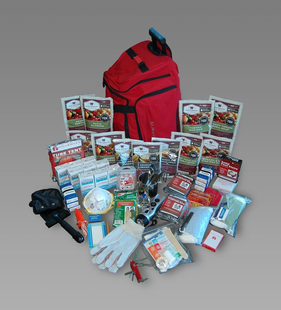Wise Company Deluxe Survival Kit - 2 Week