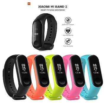 Pack Xiaomi Mi Band 3 + 5 Pulseras de Silicona: Amazon.es: Electrónica