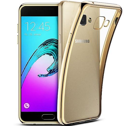 2 opinioni per Cover Samsung Galaxy A5 2016, Custodia Samsung A510, Coodio Chrome Placcatura
