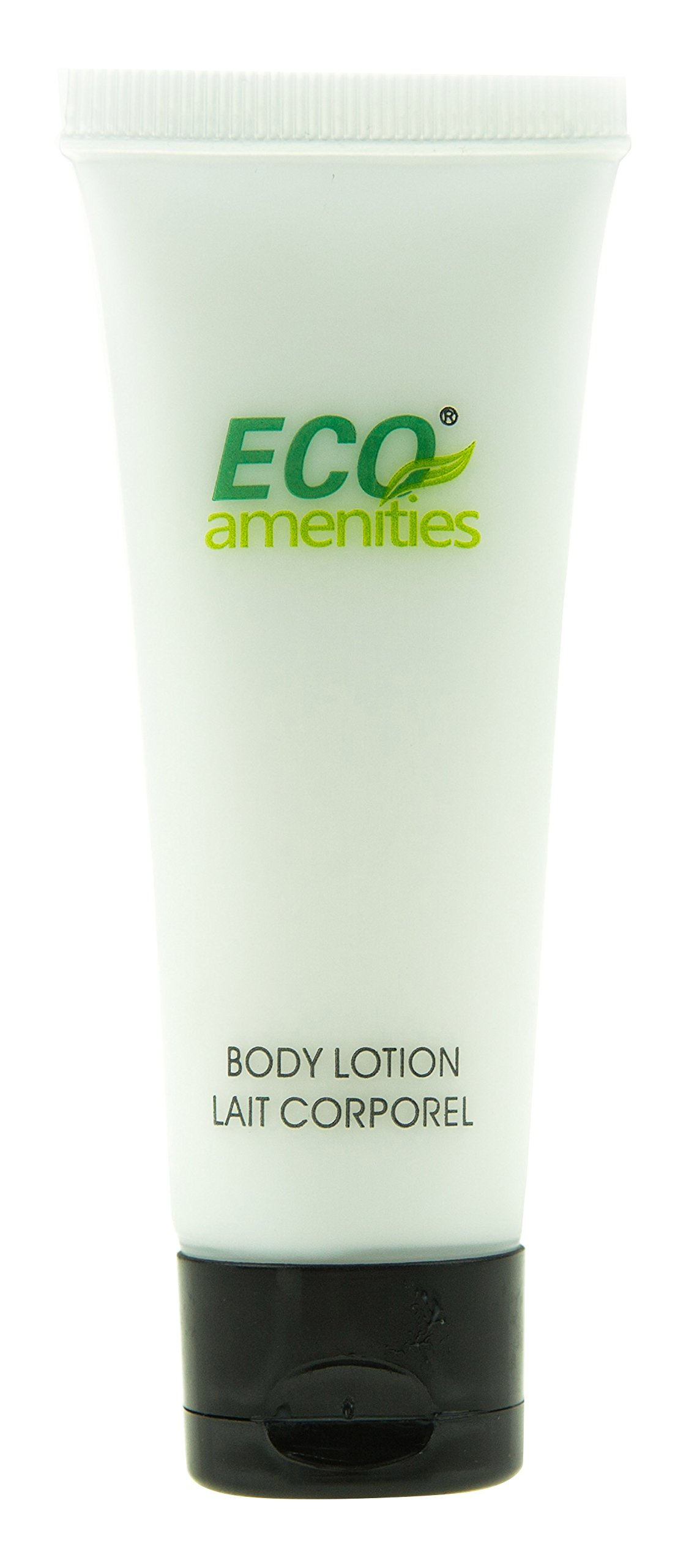ECO AMENITIES Travel size 1.1oz hotel body lotion in bulk, Clear, Green Tea, 200 Count