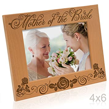Amazoncom Kate Posh Mother Of The Bride Picture Frame 4x6