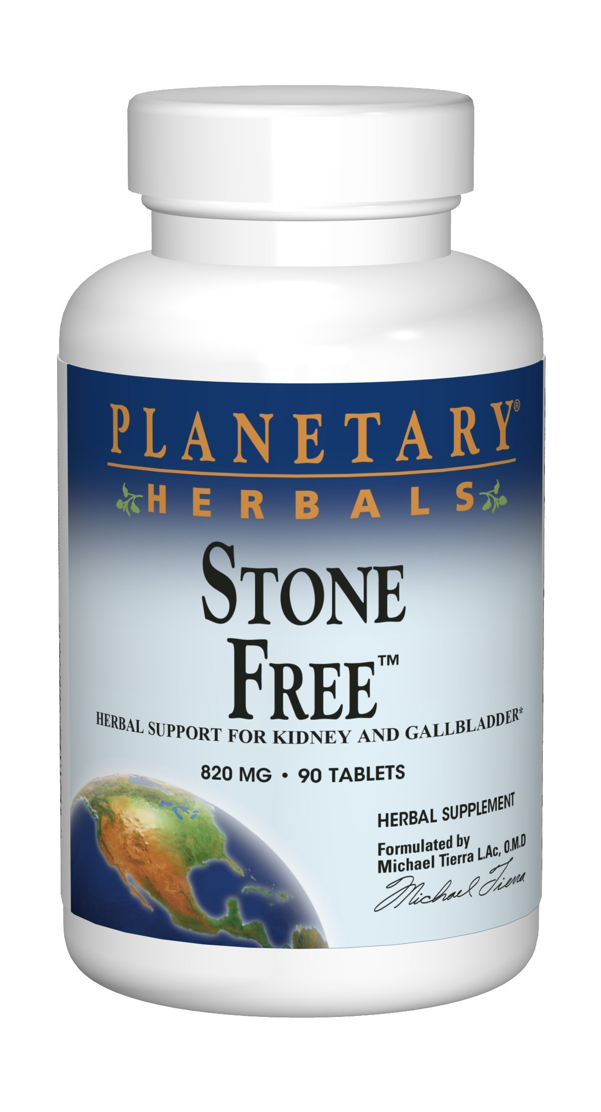 Planetary Herbals Stone Free Tablets, 90 Count