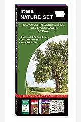 Iowa Nature Set: Field Guides to Wildlife, Birds, Trees & Wildflowers of Iowa Pamphlet