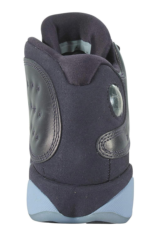 newest 5291d 5528c Amazon.com   Nike Air Jordan 13 Retro Kids Premium HC Blue AA1236-520  (Size  3.5Y)   Sneakers