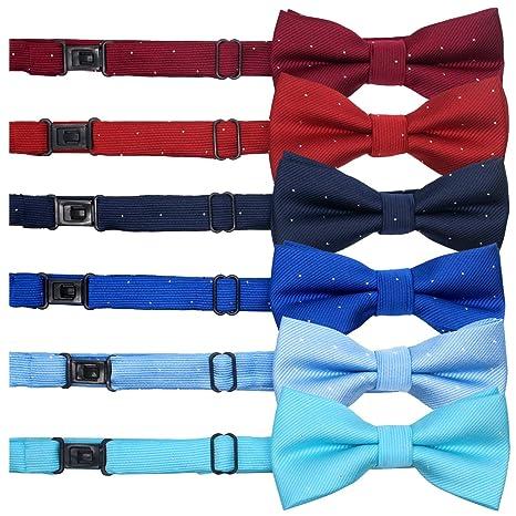 YOY pajaritas para mascotas hechas a mano, paquete de 6, corbata ...