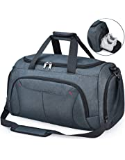 4dda31c56 NUBILY Sports Gym Bag Duffel Bags with Shoes Compartment Waterproof Large  Training Sport Holdall Travel Overnight