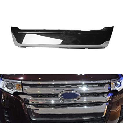 Vakabva Ford Edge Grill Btze Front Lower Chrome Moulding Grille Fit For   Ford