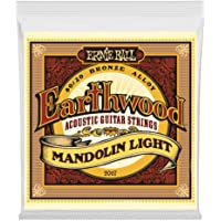 Ernie Ball Earthwood Mandolin Light 80/20 Bronze Loop End Set.009 - .034