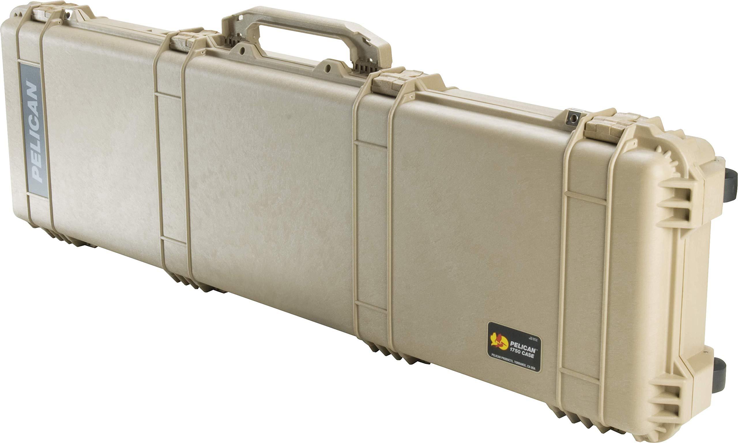 Estuche : Pelican 1750 Para Rifle Con Espuma Beige