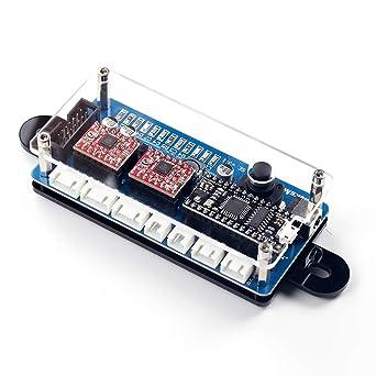 EleksMaker® ManaSE 2 Axis Stepper Motor Driver Controller Board For DIY Laser