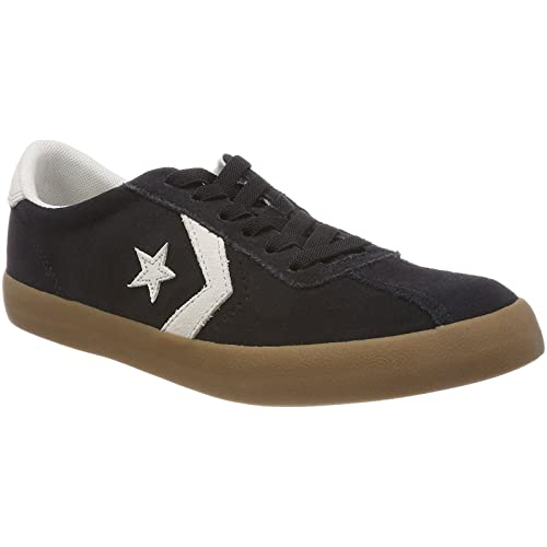 Converse Mens Breakpoint Ox Suede Trainers Black: Amazon.co