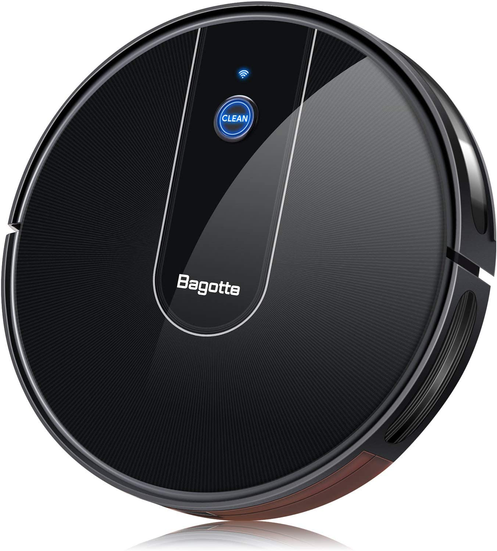 Bagotte Robot Vacuum Cleaner, APP & Alexa Controlled WAS £269.99 NOW £134.99 w/code 8GRD4PPR @ Amazon