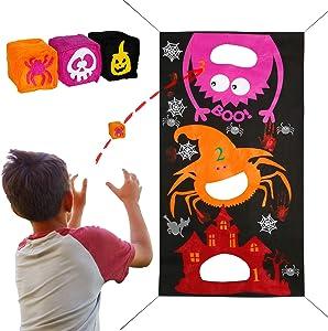 Win A Free Joy&Leo Halloween Spider Bean Bag Toss Game Sets