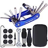 COZYROOMY Kit Reparación Herramientas Bicicleta,10 en 1 Herramienta multifunción (con Separador Cadena) y Accesorios de…