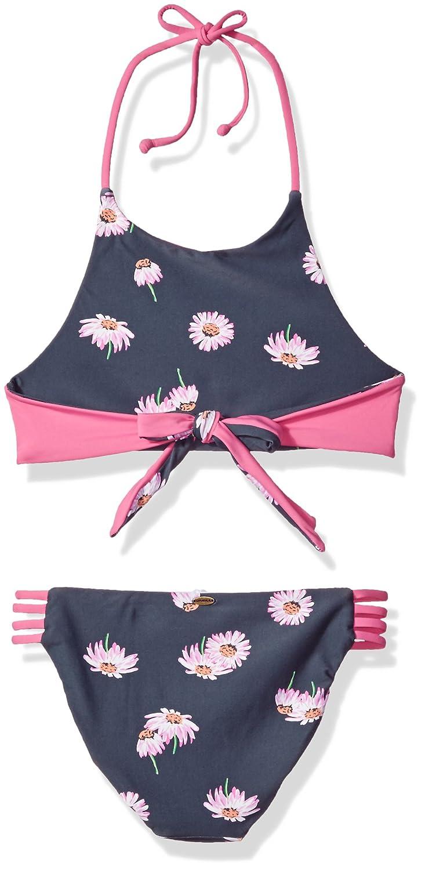 ONEILL Big Girls Daisy Chain Reversible High Neck Swimsuit