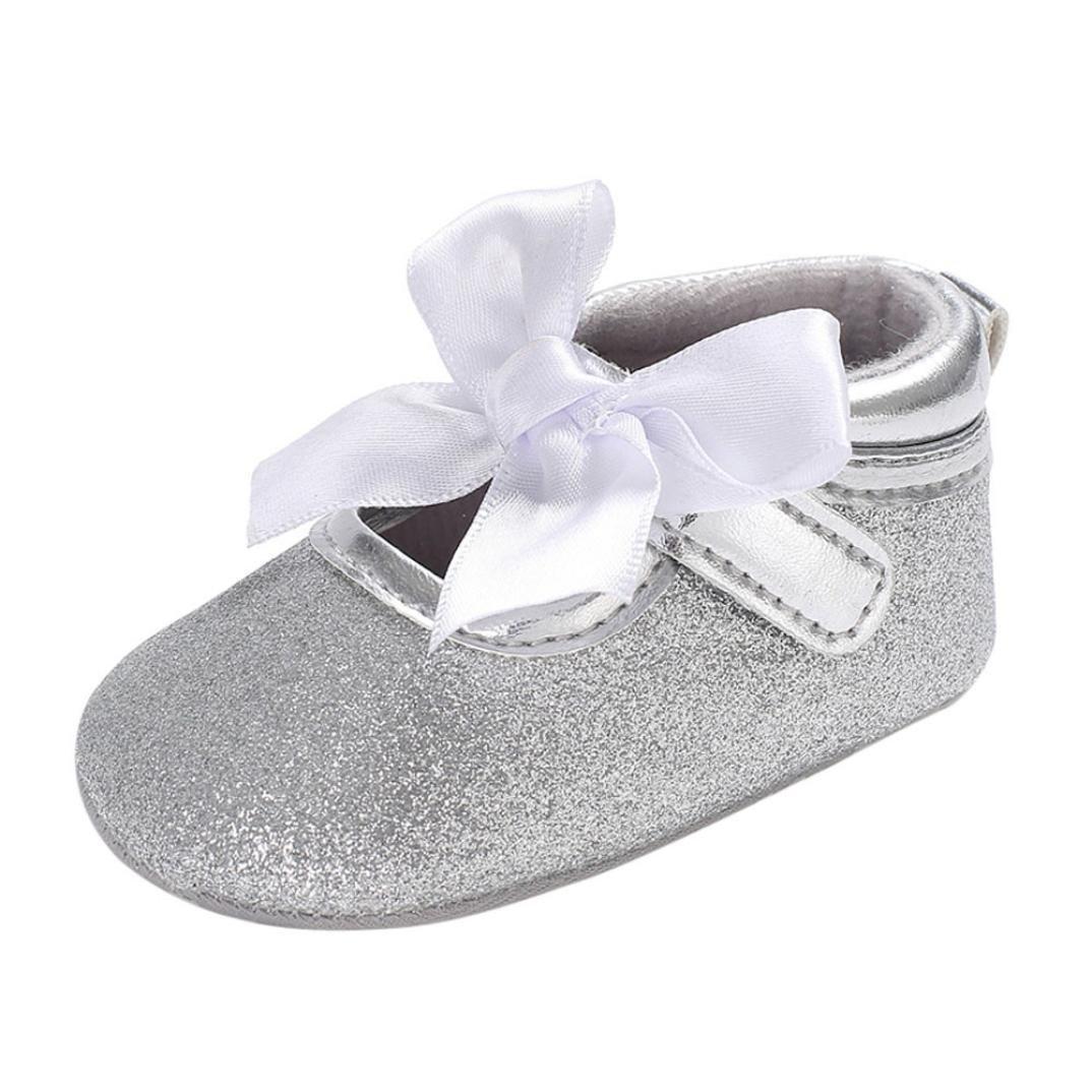 Anti-Rutsch-Wanderer Prewalker 0-6 Monat 6-12 Monat 12-18 Monat 6 ~ 12 Monate, Rose cinnamou Prinzessin Ballett Schuhe Baby Beil/äufige Schuhe Einzelne Weiche Sohle Schuhe Krippe