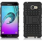 Coque Galaxy A5 (2016) 510 Coque incassable   JammyLizard   Coque incassable back cover rigide anti choc renforcée Alligator Samsung Galaxy A5 (2016) A510, noir