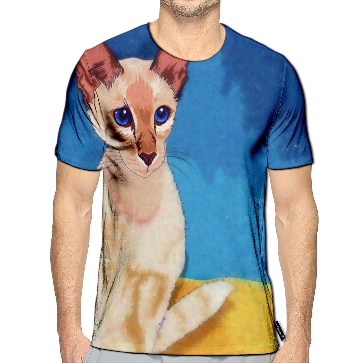 Randell 3D Printed T-Shirts Back to School Short Sleeve Tops Tees