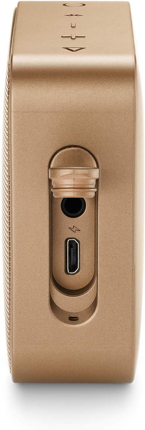 Vivavoce e Batterie ricaricabili integrate JBL GO2 Champagne Speaker portatile waterproof con connettivit/à Wireless Bluetooth JBLGO2CHAMPAGNE