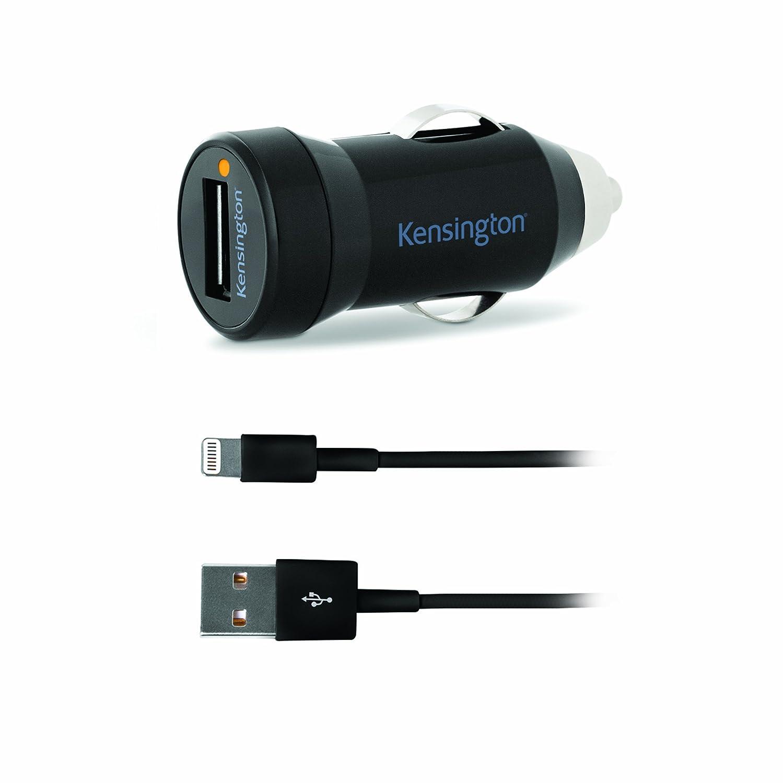 Kensington K39704EU - Cargador de coche con cable para iPhone 5
