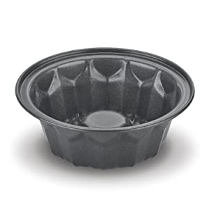 Cuisinart CMBM-4BNT 086279084842 4-pc Mini Bundt Pan Set, Small, Black
