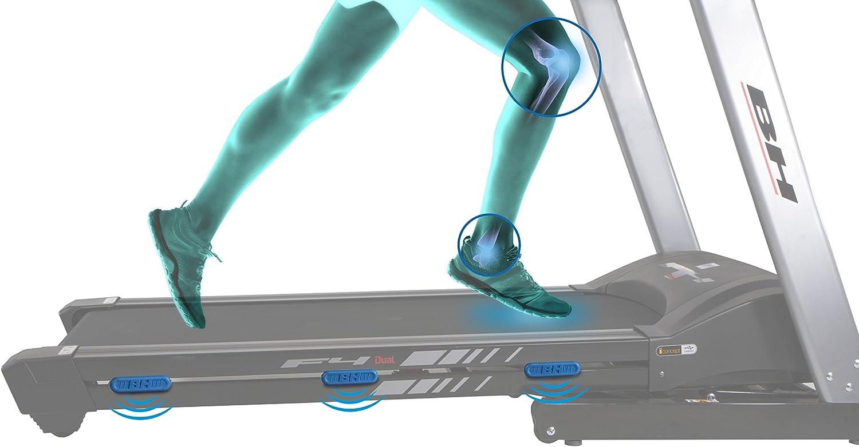 Bh Fitness - Cinta de correr f4 dual: Amazon.es: Deportes y aire libre