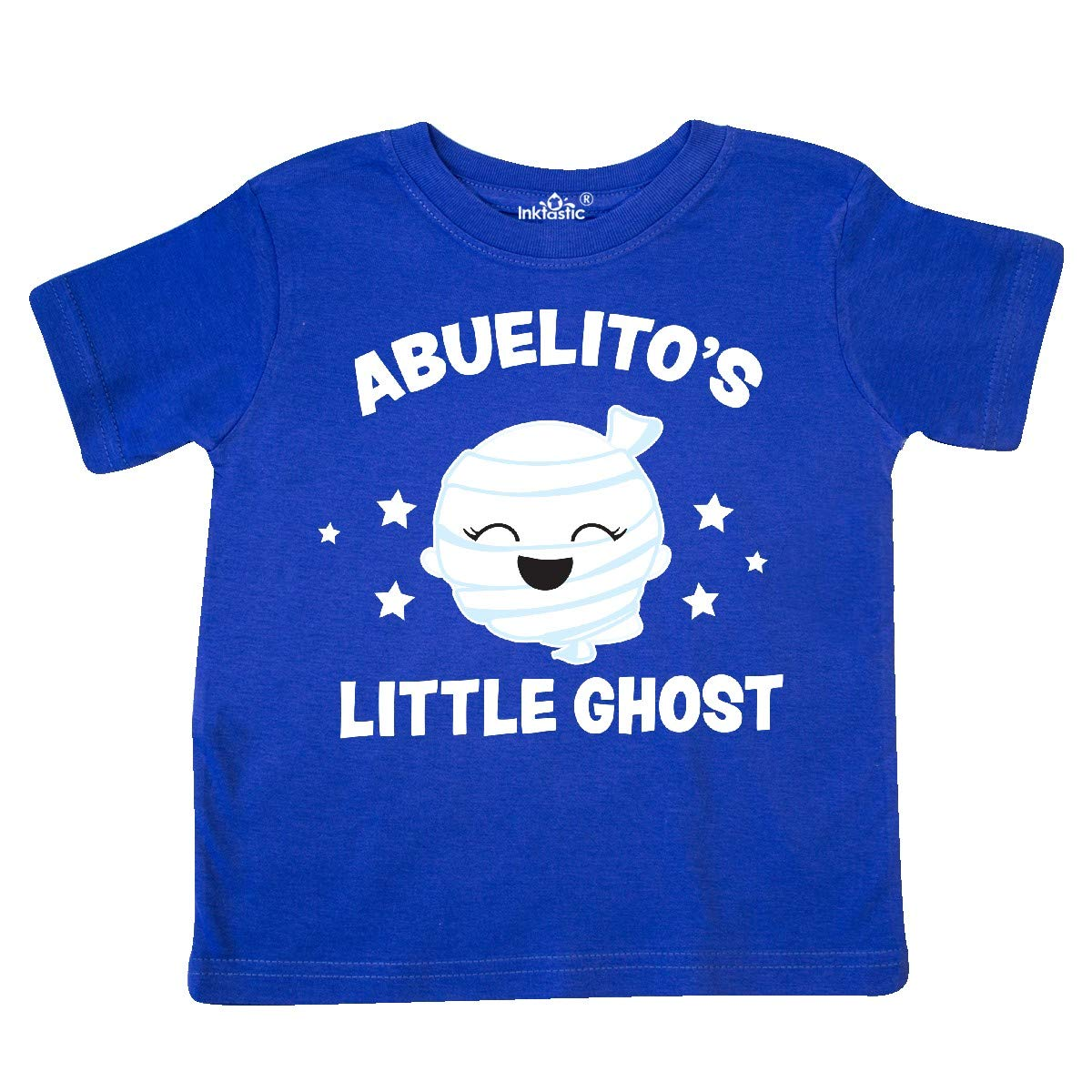 inktastic Cute Abuelitos Little Ghost with Stars Toddler T-Shirt