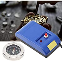 Professional Watch Demagnetizer, 110V -220V Watch Repair Degaussing Tool Kit, with Electrical Demagnetizer Tools and…