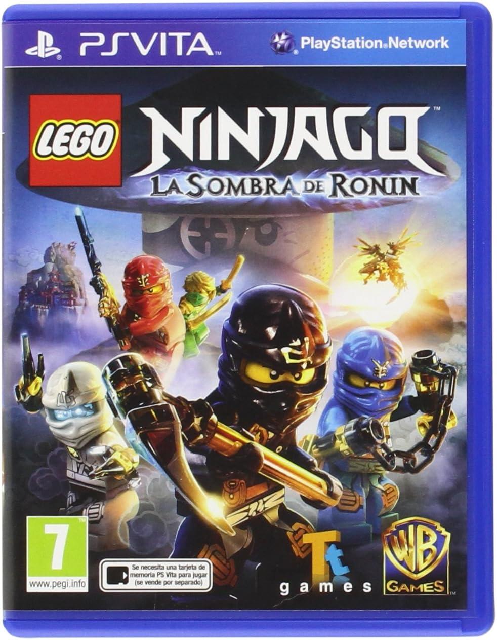 PS Vita Spiel LEGO Ninjago - Schatten des Ronin für Playstation PSV NEU