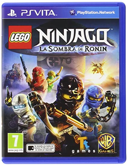 LEGO Ninjago: La Sombra De Ronin: playstation vita: Amazon ...