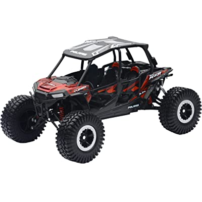 New-Ray 959-0125 Replica 1:18 Utv Polaris Rzr 4 Turbo Xp Rc Red: Toys & Games
