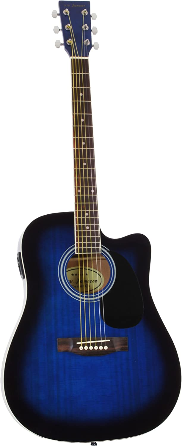 Jameson Acoustic-Electric Guitar Review! - Full Size Thinline Guitar 2
