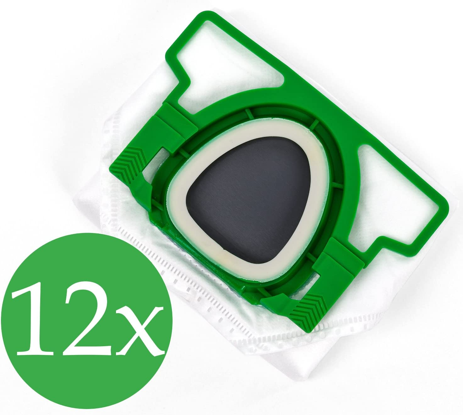 Doble pack 2 x 6 Bolsas de aspiradora Premium para Vorwerk Kobold ...
